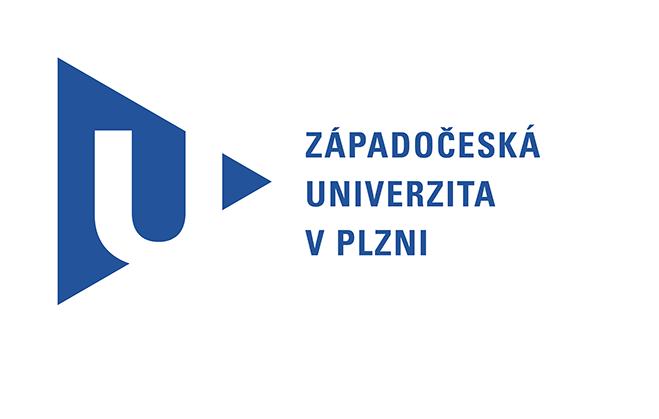 Logo Westböhmische Uni in Pilsen